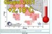 Giugno 2021 caldo in Italia.