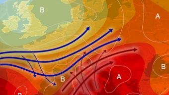 27 luglio 2021…tra la cappa del sub-tropicale e i temporali delle fresche correnti atlantiche…
