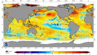 Mar mediterraneo molto caldo, rischio forti temporali in autunno