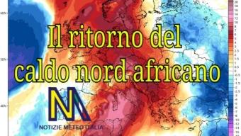 Il ritorno del caldo nord africano sull'Italia.🌡️