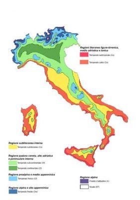 Italia Climatica Cartina.Il Clima In Italia La Classificazione Di W Koppen Meteoservice E Tempo Di Cambiare